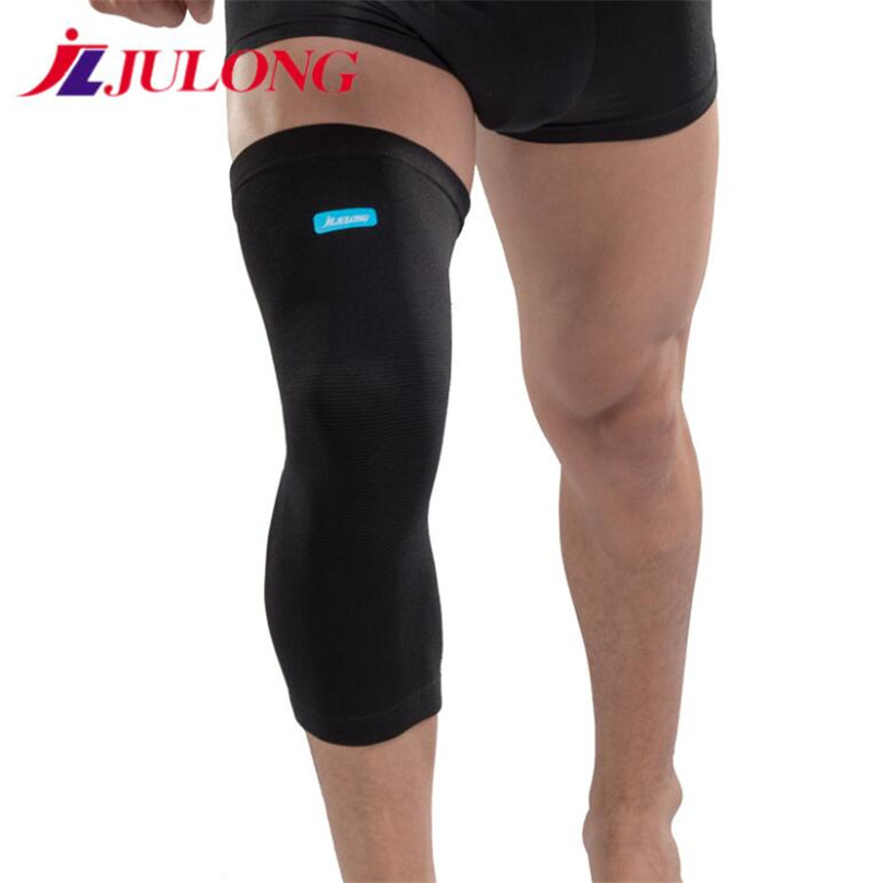 JLJULONG long sleeves Kneepads Sports Summer training Running Basketball Riding Fitness Slip Men women Breathable Warm 8018