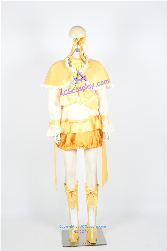 Suite Pretty Cure Shirabe Ako Cure Muse Cosplay Costume
