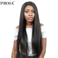 Яки прямо 360 Кружева Фронтальная парик 150% плотность кружева фронтальной человеческих волос Парики бразильского парик натуральный Цвет про