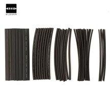 Лучшая Цена 48 Шт. Черный Термоусадочные Трубки Ассортимент Провода Для Wrap Электроизоляционные Трубки Оптовая Цена