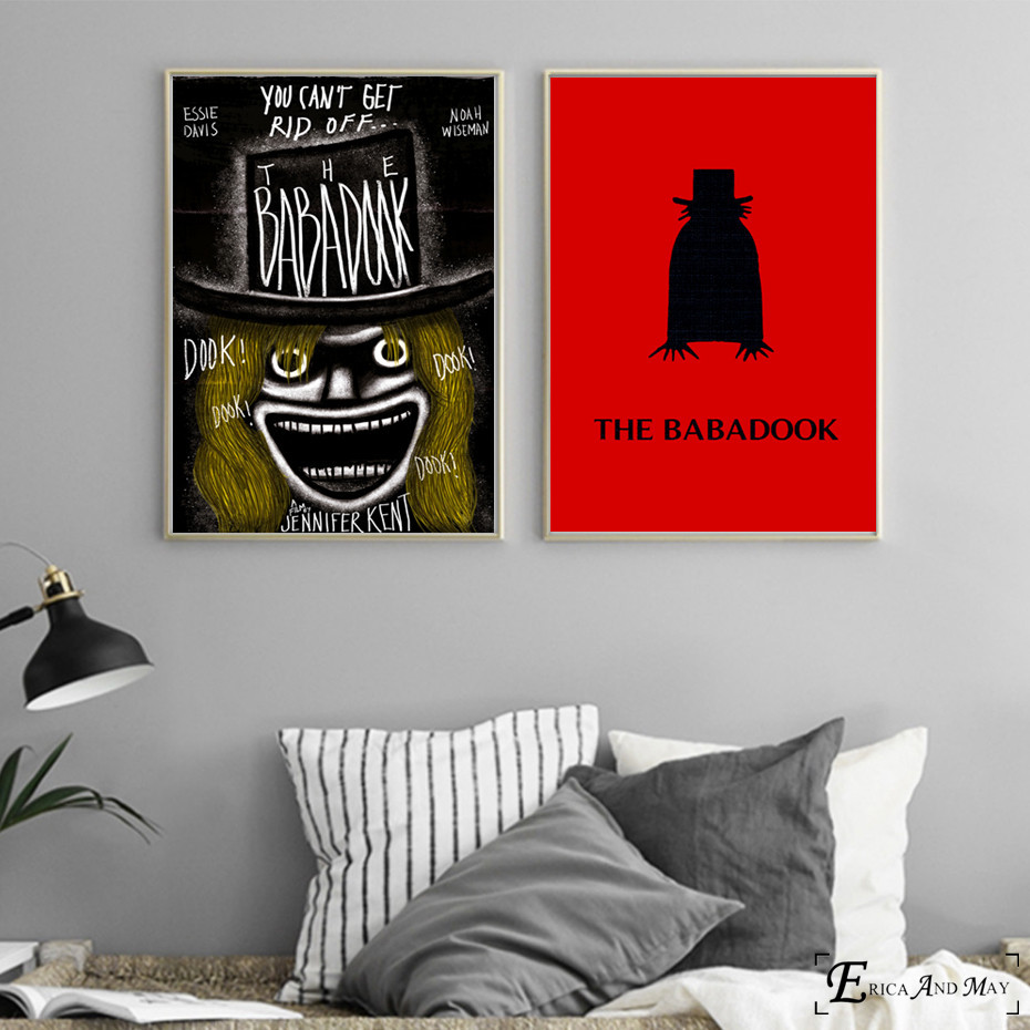 Babadook Horror Photography Canvas Painting Posters Prints Bedroom No  Framed Wall Art Picture Home Frame