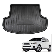 Rear Trunk Boot Liner Cargo Floor Mat Floor Carpet Mud Kick Fit For Mitsubishi Outlander 2013-2017 2014 2015 2016 for audi q5 rear trunk cargo liner boot mat floor tray carpet mud kick protector cover 2010 2016 automobile parts accessories