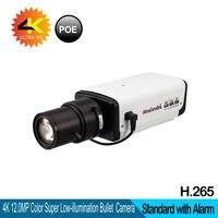3,6 11 мм объектив 4 К ip камера Hi3516A + SonyIMX226 Сенсор 12mp ультра сети сигнализации PoE H.265 и H.264 безопасности Видео камера Доль питания