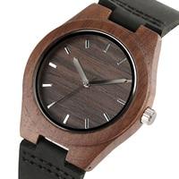 שעון Creative עץ נשים חום טרי מקרה עץ עץ צמיד שעון Reloj קוורץ שעון יד גבירותיי מתנה הטובה ביותר עבור ילדה
