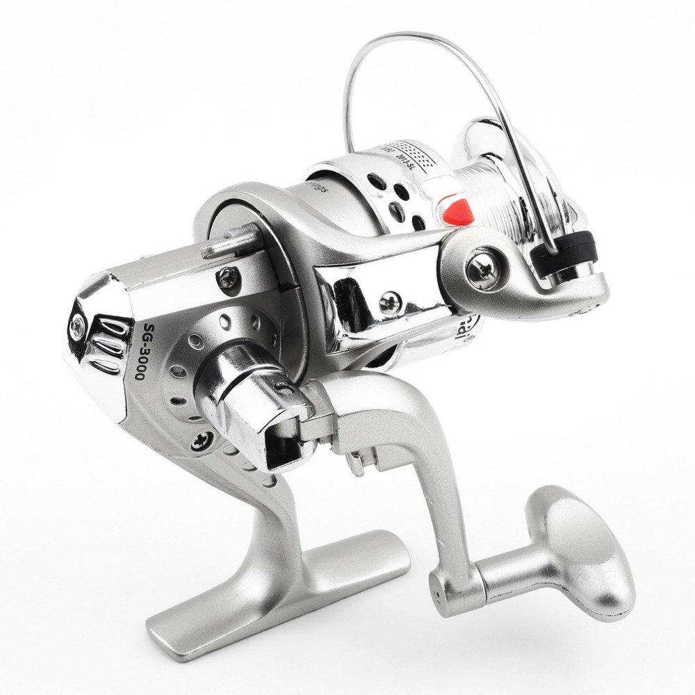 Hot sale 5.1:1 1BB Ball Bearings Fishing Spinning Reel Left/Right SG3000 ABS Spool new arrival