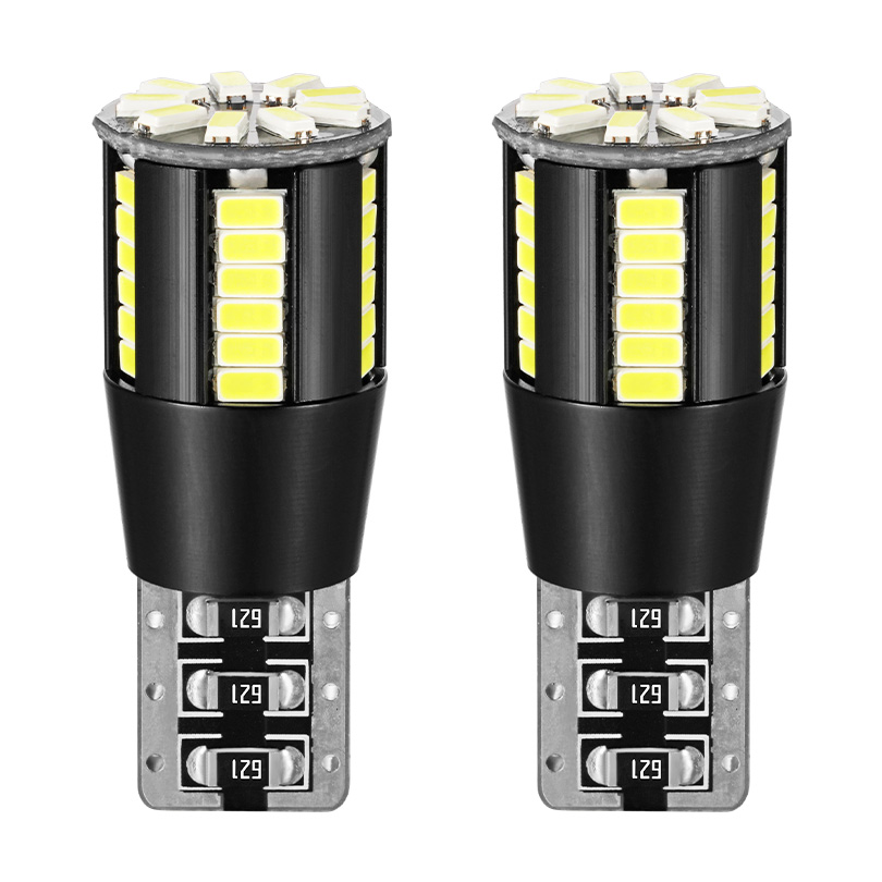 2x T10 W5W <font><b>LED</b></font> Canbus 168 194 License Plate Lights For <font><b>Renault</b></font> Koleos Fluenec Latitude Kadjar <font><b>Captur</b></font> Talisman Megane RS Sandero image