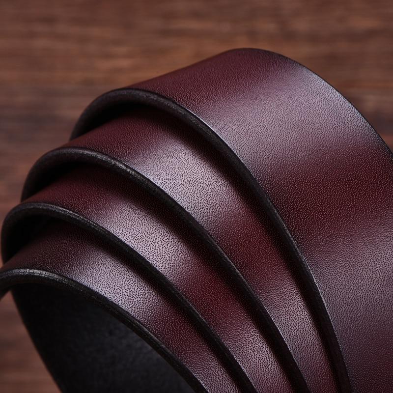 DINISITON kulit sapi asli sabuk kulit untuk pria sabuk desainer merek - Aksesori pakaian - Foto 5