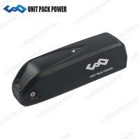 UPP 48 V 1000 W Батарея Новый Хайлун 48 V 14.5Ah Электрический велосипед литиевая Батарея для 8FUN/BAFANG BBS01 BBSHD с USB