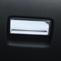 1A67C Classic Fawkes Decoration Special Glove Box Handle Sequins ABS Plating Glove Box Modification