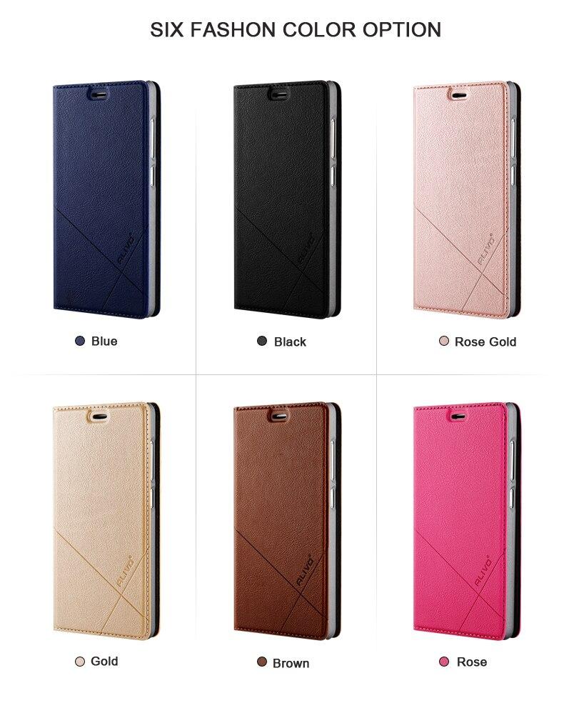 For Meizu M3 Case Meizu M3 mini ALIVO Leather Flip Cover Phone Case for Meizu M3S Full Protective Cover Meizu M3S Mini in Flip Cases from Cellphones Telecommunications