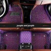 kalaisike Custom car floor mats for Rolls Royce Ghost Phantom auto styling car accessories