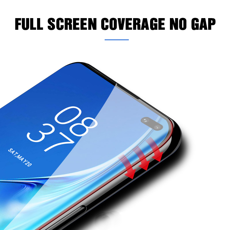 Image 2 - 20D Full Curved Hydrogel Film For Samsung Galaxy S10E S9 S8 S10 Plus Safety film For Samsung S7edge Note 8 9 Film Not Glass-in Phone Screen Protectors from Cellphones & Telecommunications