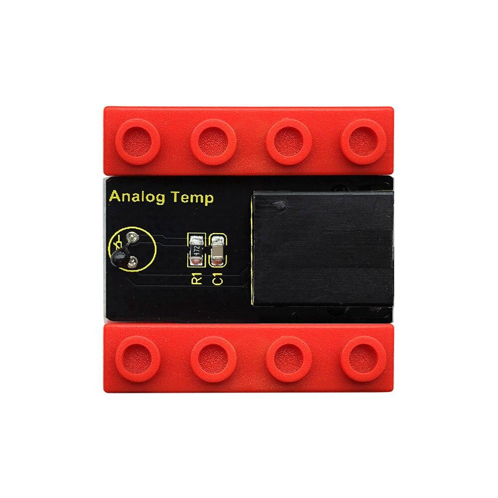 Image 3 - Kidsbits блоки кодирования аналоговый датчик температуры модуль для Arduino пара EDU (черный и экологически чистый)-in Доски для показов from Компьютер и офис on AliExpress - 11.11_Double 11_Singles' Day