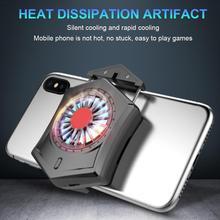 Mobile Phone Heat Sink Gaming Cooler Water-cooled Radiator Game Controller Cooling Fan Playing Games Gamepad