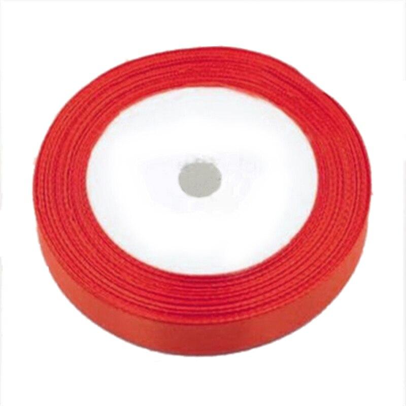 1 рулон шелковые, атласные ленты для Свадебная вечеринка (красный) 22 м длинные (25 ярдов) ширина 25 мм 17 Цвета