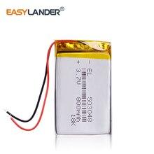 Перезаряжаемый 503048 800 mAh литий-ионный аккумулятор 3,7 V Вольт литий-полимерный Li-po литиевый беспроводной контроллер мыши регистратор видеомагнитофон