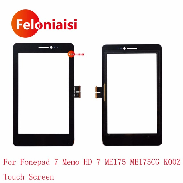 """High Quality 7.0"""" For Asus Fonepad 7 Memo HD 7 ME175 ME175CG K00Z Touch Screen Digitizer Sensor Outer Glass Lens Panel+Tracking"""