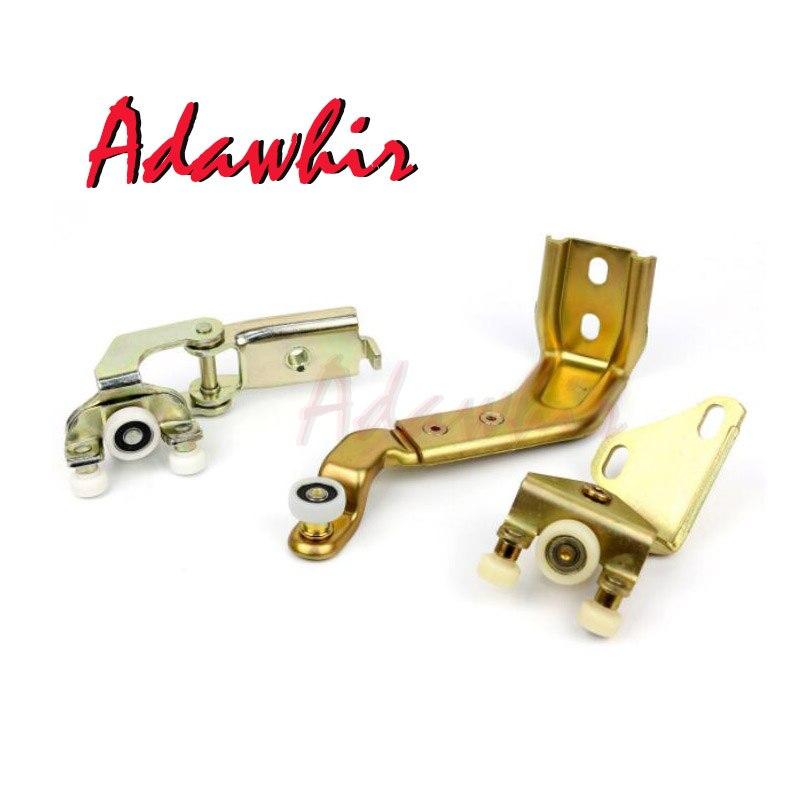 sliding door rolling set for VW LT Mercedes Sprinter 2D1843436A D901760104 2D1843336D 90176013472D1843398 9017600128 in Door Hinge Conversion Kits from Automobiles Motorcycles