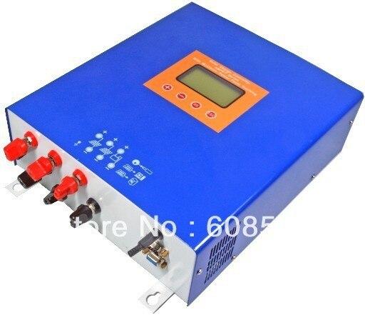 Freeshipping! 12V/24V 60A MPPT solar charge controller  LCD display PWM solar regulator for solar power system solar streetlight