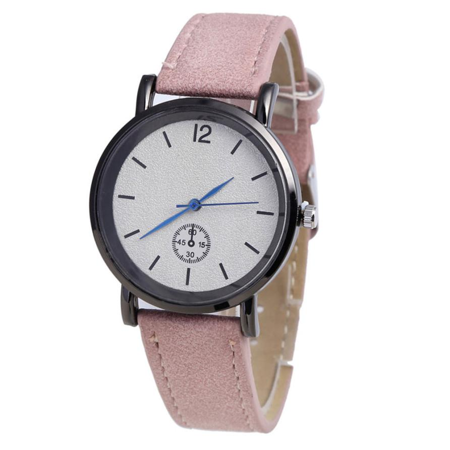 Quartz Wristwatches  Reloj Mujer  PU Leather Strap Simple    Women Watch Luxury Brand  Fashionable Clock  Watches  18JAN4 2017 pinbo hot fashion starry sky women watches luxury quartz leather strap colock watch a9 ladies wristwatches reloj mujer