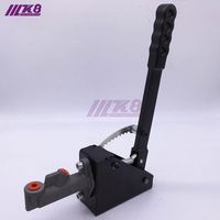Free Shipping Alloy Hydraulic Vertical Handbrake with locking device(Aluminum) K8-11005