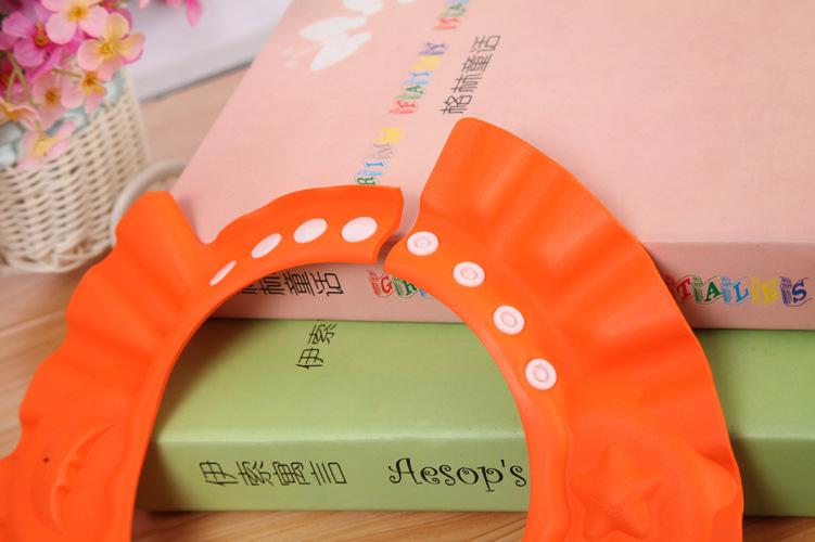 детский шампунь шапка регулируемая водонепроницаемые материалы мытья волос шляпу детей, душ воды сопротивляться крышки