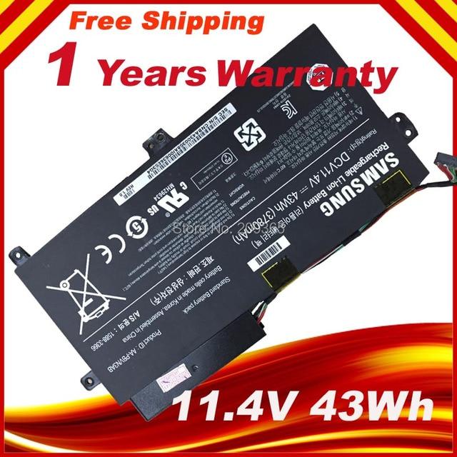 11.4V 43WH  Genuine Original AA-PBVN3AB Battery for SAMSUNG NP370R4E NP370R5E NP450R4E NP450