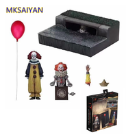 NECA Stephen King's It 2017 Anime Figure Scary Sewerage Scenes PVC Toys Juguetes Collectible Model Toys Gift Doll Action Figure