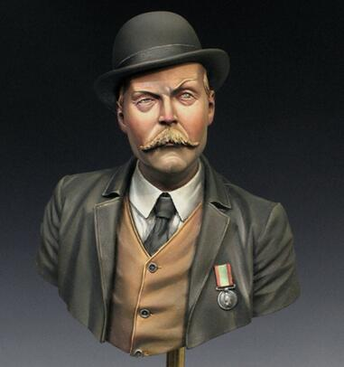 1/12 Resin Bust Watson Doctor Figures Not Assembled Uncolored