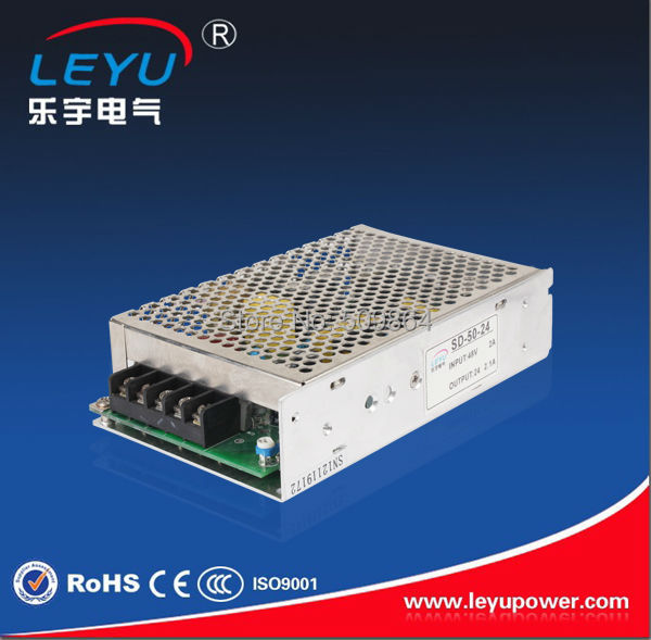цена на CE rohs 2 years warranty 50w single output dc dc converter 5v to 24v dc dc converter