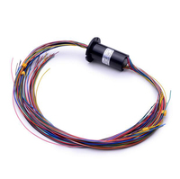 36 Channel 2A High Precision Slip Ring 48 4mm SRC 22 36B Capsule Conductive Slipring Out