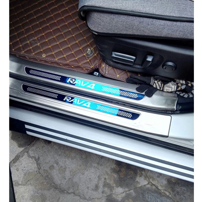 ACCESSORIES FIT FOR Toyota RAV4 RAV 4 2014 2017 Door Scuff Sill Plates Kick  StepCompare Prices on Door Kick Plate  Online Shopping Buy Low Price  . Entry Door Kick Plates. Home Design Ideas