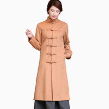 2018 la venta caliente mujer abrigo de lana de alta calidad chaqueta de invierno  mujeres de lana larga Cachemira Abrigos Rebeca . 577f8d3e080e