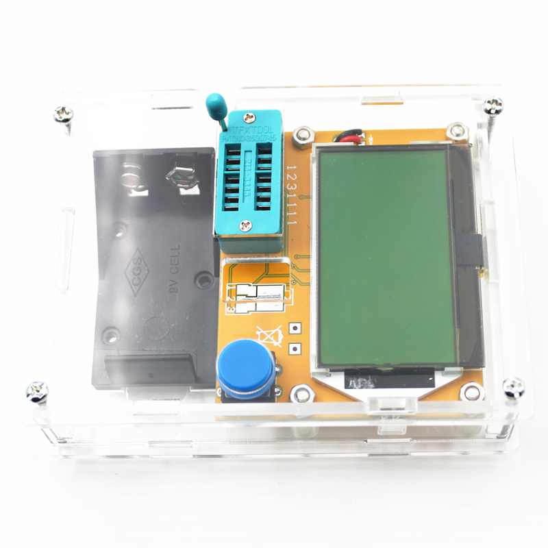 mega328 транзистор тестер