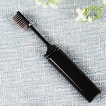 2Pcs Folding Charcoal Soft Toothbrush