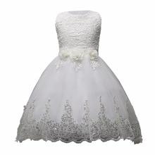 fe8f5594b Niños Diamante dama vestido sin mangas princesa de las muchachas de baile  partido soplo del arco