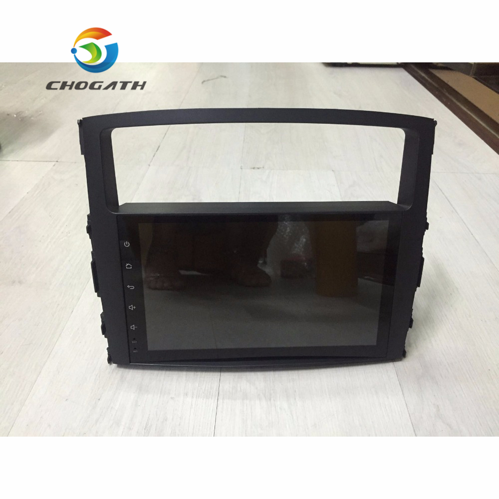 Chogath 9 1024 600 Quad Core Android 6 0 Car DVD Radio GPS for MITSUBISHI PAJERO