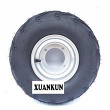 XUANKUN ATV Four-Wheel Karting Self-Made Modified Accessories 16X8-7 Inch Vacuum Tire With A Hub 4-Hole Iron Ring