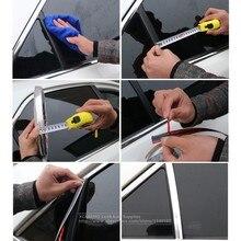 Car Body Chrome Styling Sticker