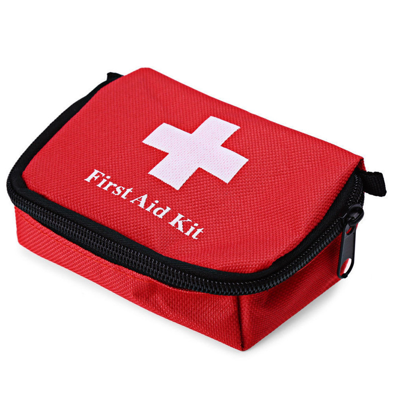 Portable First Aid Kit Outdoor Hiking Camping Travel Emergency Medicinal Bag Home Bag Case Waterproof Canvas Sports Survival Bag
