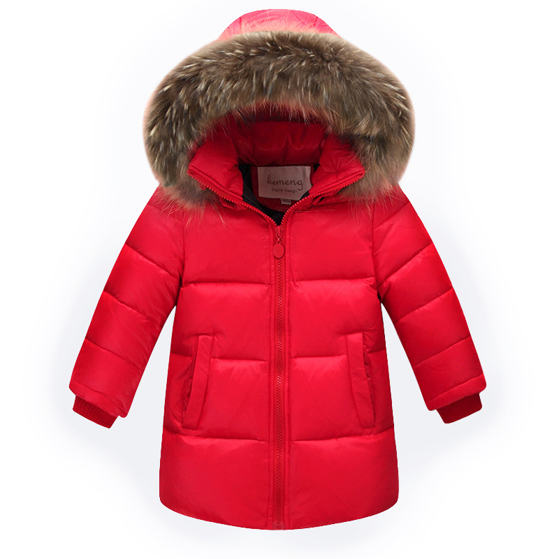 Baby Boys Winter Jackets Children Down Parkas 2-12Y Children's Hooded Coats Kids Down Jacket Cold Winter Outwear Fur Collar kindstraum 2017 super warm winter boys down coat hooded fur collar kids brand casual jacket duck down children outwear mc855