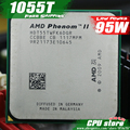 Amd phenom ii x6 1055 t cpu processador six-core (2.8 Ghz/6 M/95 W) soquete AM3 AM2 + 938 pin (trabalhando 100% Frete Grátis) venda 1045 T