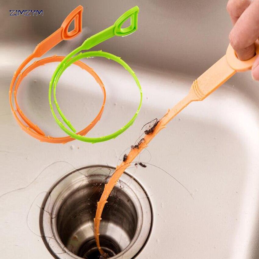 1 Stück Schlange Geformte Waschbecken Reiniger Bad Wc Küche Ablauf Entfernt Verstopfte Haare Reinigung Pinsel Für Home Beliebte Neue Dinge FüR Die Menschen Bequem Machen
