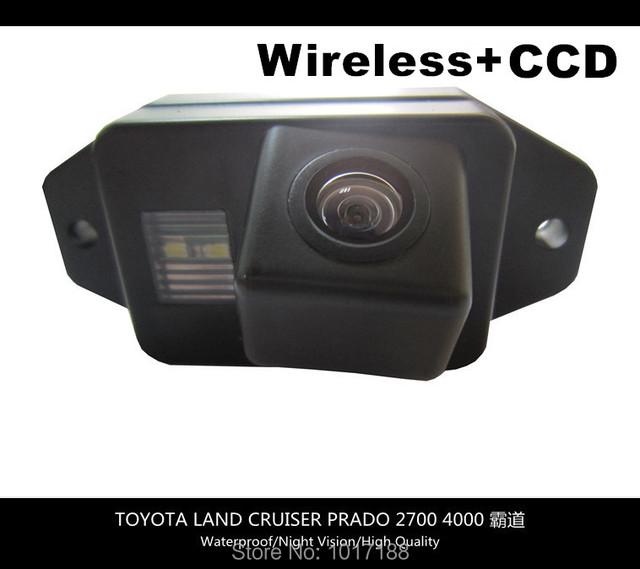 Hd! WIFI cámara inalámbrica cámara de visión trasera CCD Chip para TOYOTA LAND CRUISER PRADO 2700 4000