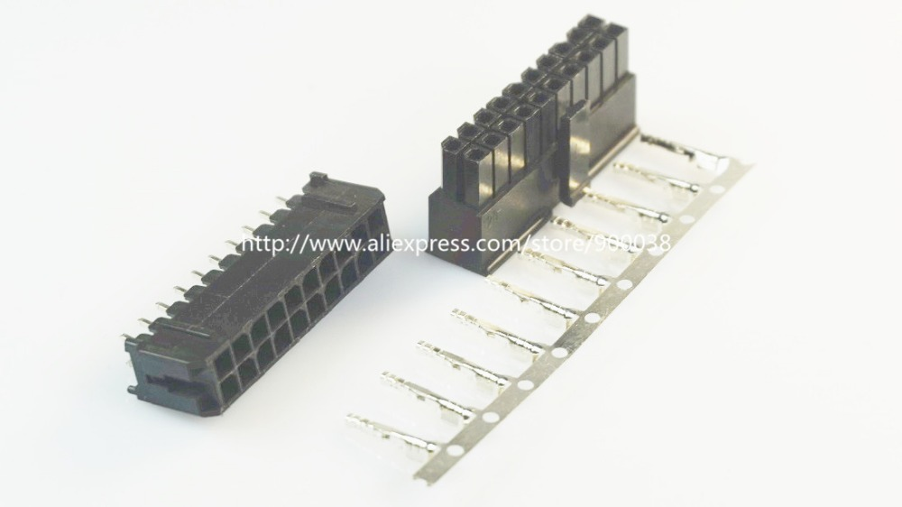 Lights & Lighting 43045 Useful 50 Sets Micro-fit Connector 3.0mm 2x6 Pin 12 P Wafer Right Angle Plus Receptacle Housing And Terminal 43025
