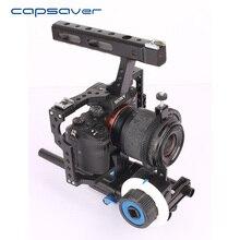 capsaver 15mm Rod Rig Video DSLR Camera Cage Stabilizer Hand