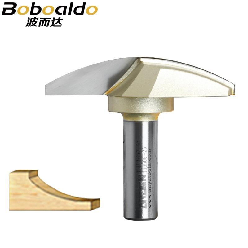 1PCS 1/2 Schaft Horizontale Crown Molding Bit Holzbearbeitung Werkzeuge Arden router bits für holz Cutter