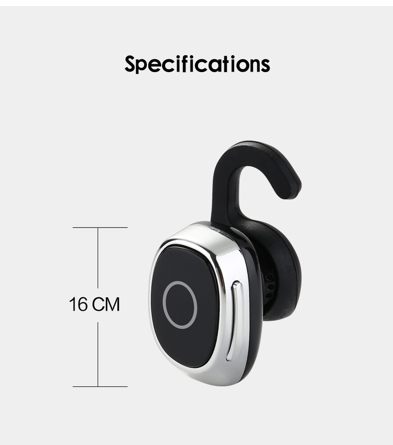 6 wireless mini earpiece