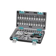 Набор ручного инструмента STELS 14101 (57 предметов из высококачественной стали, кейс в комплекте)