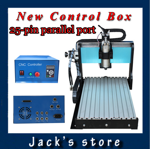25-pin parallel port! 3040Z-SS++ , CNC3040 1500W Spindle + 2.2kw VFD CNC Router water-cooling ,Metal engraving machine usb port 3020z s cnc3020 800w spindle 1 5kw vfd cnc router water cooling metal engraving machiney cnc machine cnc 3020